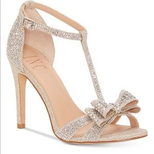 international concepts bow ressie evening sandal